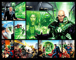 Justice League pages 1 by JPRart