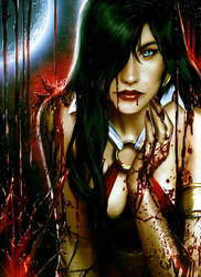 Vampirella by JPRart