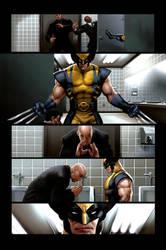 Wolverine page 6 by JPRart
