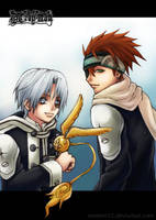 D. Gray Man: Allen + Lavi by sonteen12