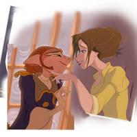 JaAm Flirting by StrawberryLoveU