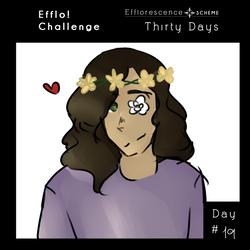 [ES] ||THIRTY DAYS CHALLENGE|| day 19 by 9990Zara