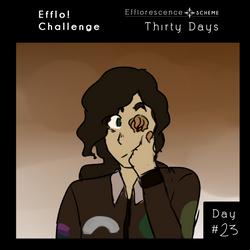 [ES] ||THIRTY DAYS CHALLENGE|| day 23 by 9990Zara