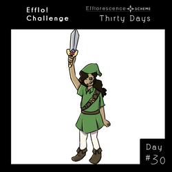 [ES] ||THIRTY DAYS CHALLENGE|| day 30 by 9990Zara