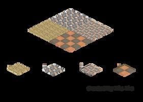 Pixel Art. Isometric. Textures 2 by MimiMiaART