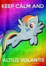 Rainbow Dash Poster by RainbowDeck