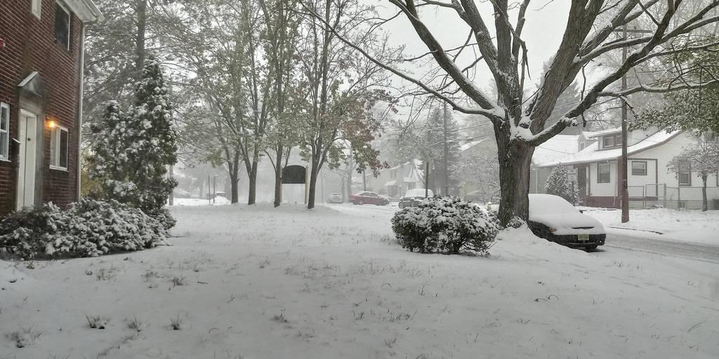 First Snow Event by morningstarskid
