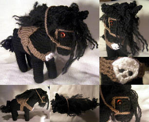 Vampire Hunter D's Horse (FOR SALE) by GRichmond