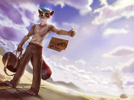 Hitch-hiking by 2078
