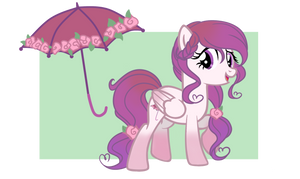 Lovely Parasol Pony Adopt (CLOSED) by EmbersLament