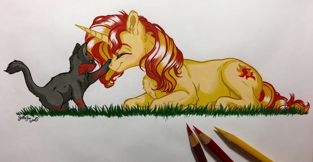 Collab: Boop! by EmbersLament