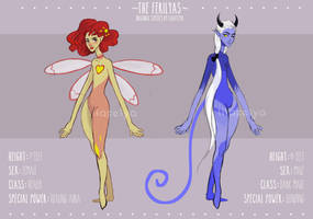 The Ferilyas #4 Adopt Auction (Closed) by LilaFelya