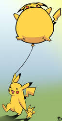 pikachu by DHaiku