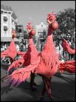 Pink Flamingos by eRiQ