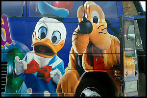 Disney bus 1 by eRiQ