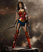 Wonder Woman coloured in by eRiQ