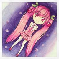 Cherry Blossom Miku by 0aku