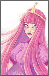 Princess Bubblegum by 0aku