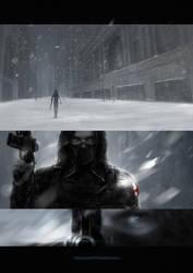 Winter Ghost by min1919