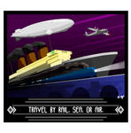 TRAVEL BY... by The-Necromancer