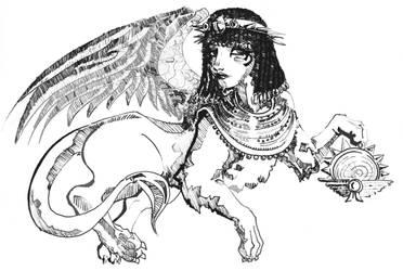 Sphinx by yaddie