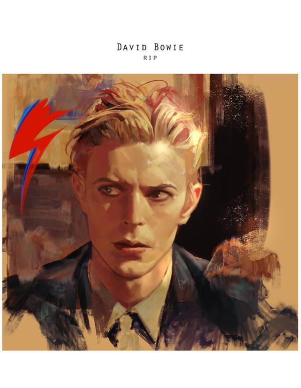 David Bowie by Kyrie0201