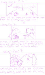 Loose Cannon 3 boss level outline by arcanineryu