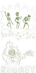 Skelebeard Comic Part 2 by arcanineryu