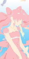 Princess - Chibi Moon bookmark by christi-chan
