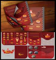 CIKA Menu Design by m-maher