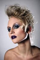 Purple lips by stareater