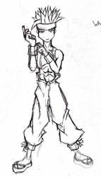 Final Fantasy Tactics Monk by Gx3RComics
