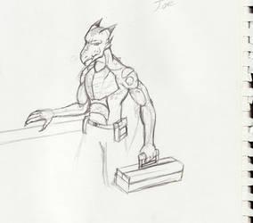 Joe the Dragonkin by Gx3RComics