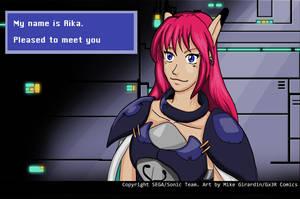 Nice to meet you Rika by Gx3RComics