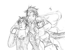 Tales of Xillia, business as usual. by Gx3RComics