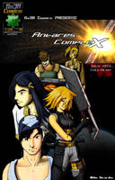 Antares Complex i4 cover by Gx3RComics