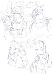 Faces 07 Out of order edition! by Gx3RComics