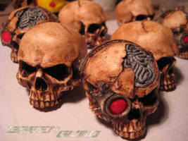 Sniper skulls and Grim skulls by Gx3RComics
