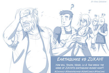 ZUKAH vs Earthquake by Gx3RComics