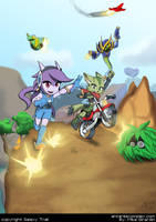 Freedom Planet Dragon Valley by Gx3RComics