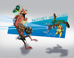 Platformer RUN: Ratchet and  Clank! by Gx3RComics