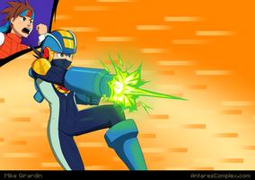 Go Mega Man!! by Gx3RComics