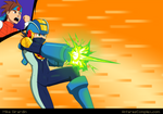 Go Mega Man!! by Gx3RComics