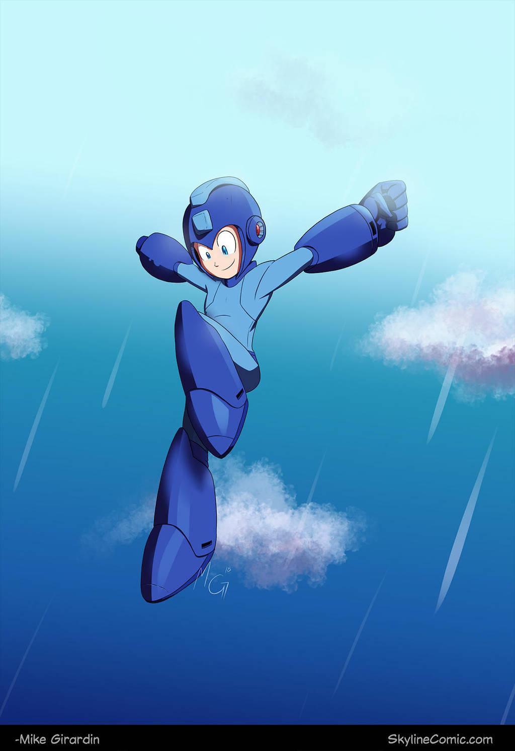 Mega Man fanart by Gx3RComics