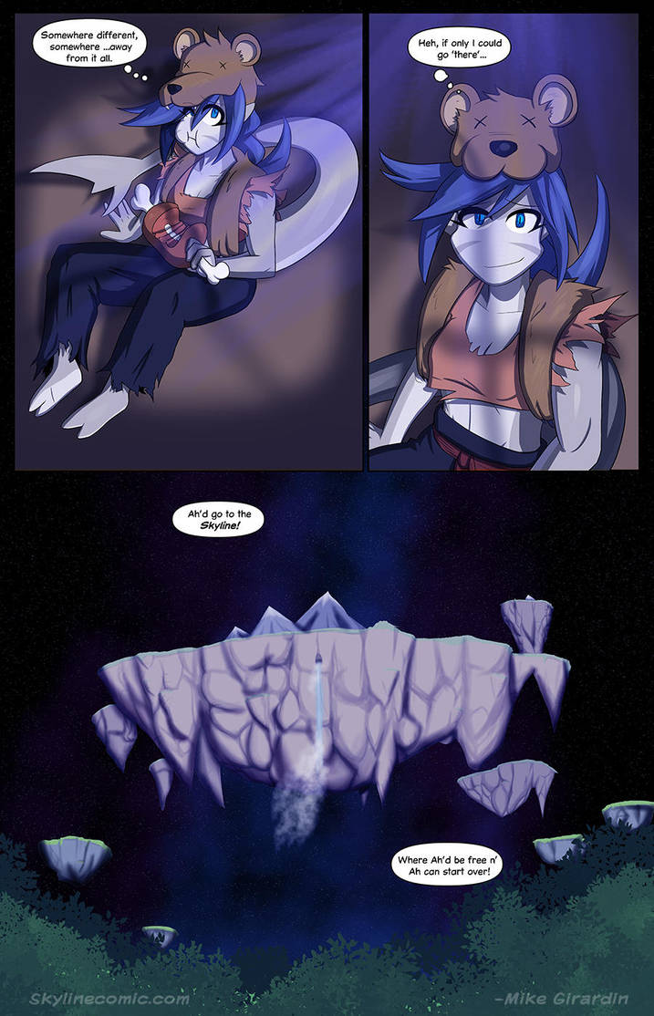 Journey to the Skyline i01 pg23 by Gx3RComics