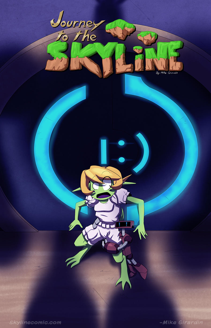 Journey to the Skyline i02 cover by Gx3RComics