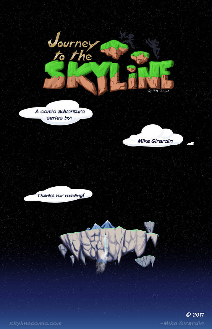 Journey to the Skyline i02 credits by Gx3RComics