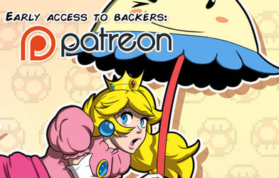 Patreon preview: Things are just Peachy! by Gx3RComics