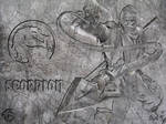 Scorpion Wall by sjkeri