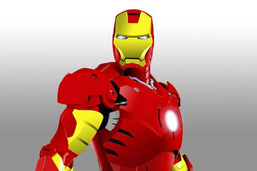 Iron Man by sjkeri